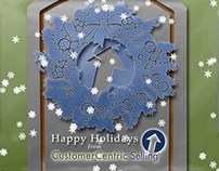 Animation - Customer-Centric Selling Holiday Greetings