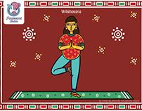 Funky Patua- Prenatal Yoga Poses