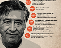 Cesar Chavez Event Calendar 2014