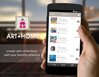 Art+Home mobile app