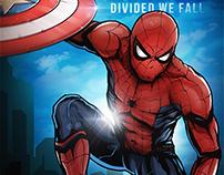Illustration (Poster): Captain America: Civil War