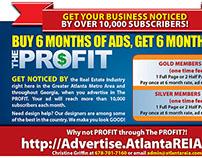 Advertise in Atlanta's The PROFIT