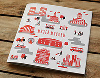 Booklet for Museum of Moscow