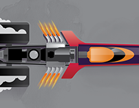 The Top Fuel Dragster infographic
