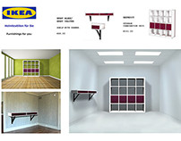 Recreate Ikea Furniture and Advertisement