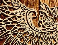 Оpenwork owl
