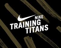 NIKE   Training Titans Website