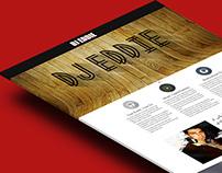 DJ EDDIE's official website