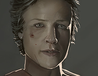 "Carol from Walking Dead. ""The Forgotten One"""