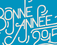 Bonne Année/Happy New Year 2015