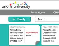 Orion University CRM