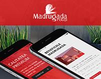 Client: Madrugada Group - Web Design