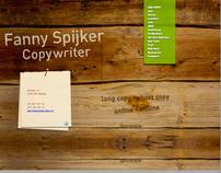 Website Fanny Spijker