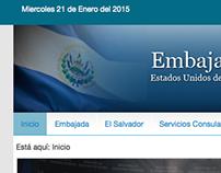 Embajadas y Consulados de El Salvador