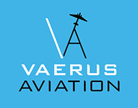 Logo Design: Vaerus Aviation Inc.