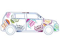 Car wrap — F.R.E.E. Soup Kitchen