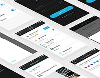 Notice App - concept app UX design