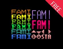 Fami: Variety NES Fonts