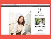 Mia Maree Blog Design