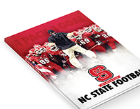 2014 NC State Football Media Guide Cover