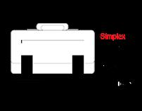 Simplex Messenger Bag