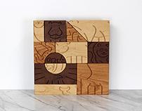 """Aminal"" Blocks by Studio Dunn"