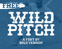 Wild Pitch - A Free Font