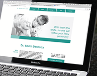 Dentist Website Layout