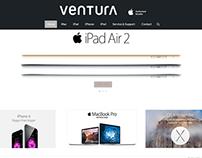 Ventura-Apple Authorised Reseller Website