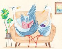 The Heron's