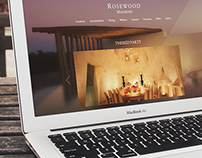Rosewood Mayakoba Website Layout