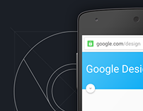 Chrome Android Material Design