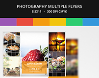 Photography Multiple Flyers Template