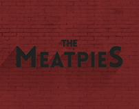 The MeatPies - Logotipo y cartel de concierto