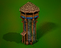 Age of empires 3D Guard Tower