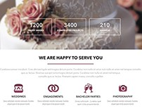 Wedding Planner - free website template