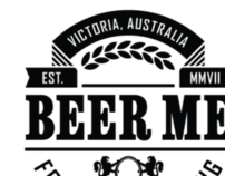 Pure Distilling and Beer Me branding