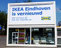 IKEA Living room on the street