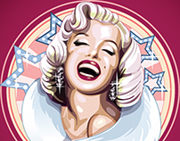 "Icons for slot machine ""Pin-up"""