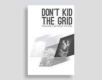 Don't Kid the Grid (Interpretive Poster)