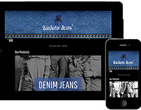 Responsive Website for clothing showroom