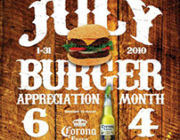 Burger Appreciation Month Poster