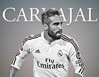 Carvajal / Real Madrid / Birthday / Wallpaper