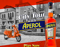 Aperol Event and Mobile Game