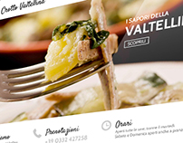 Crotto Valtellina - website