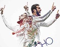 Nacho / Real Madrid / Birthday / Wallpaper