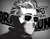Stickers Born To Run - 2014