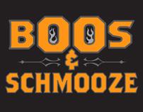 BOOS & SCHMOOZE Logo