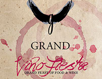 Grand Africa: Vino Fiesta Invite
