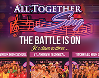 TVJ All Together Sing 2014 Branding